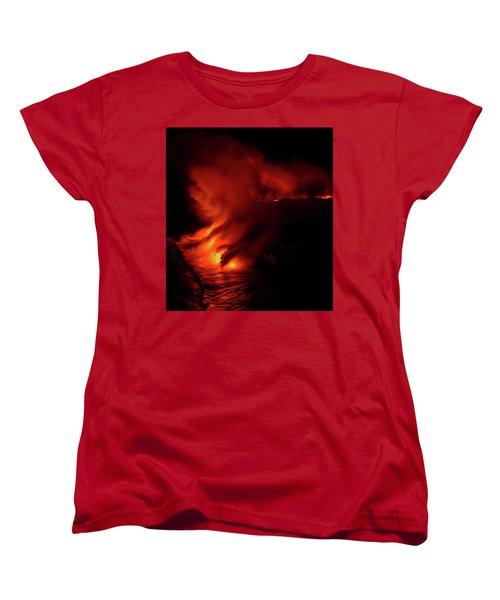 Predawn Pouroff Women's T-Shirt (Standard Cut) by Allen Biedrzycki