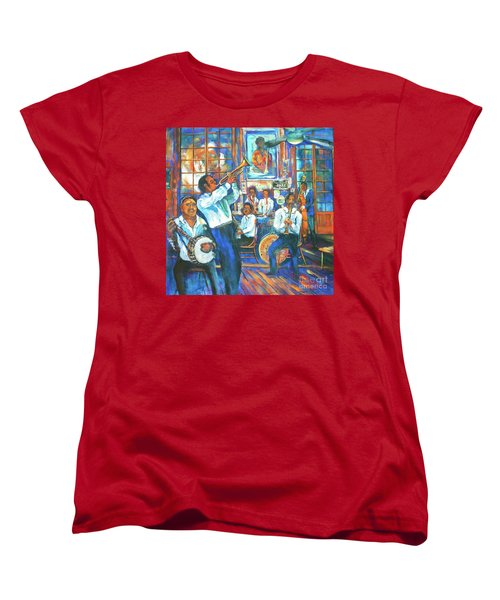 Preservation Jazz Women's T-Shirt (Standard Cut) by Dianne Parks
