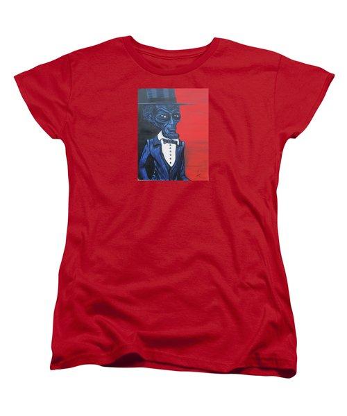 President Alienham Lincoln Women's T-Shirt (Standard Cut)