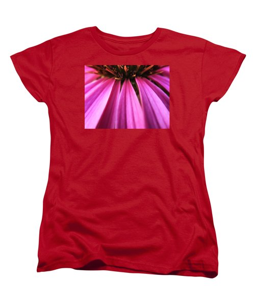 Women's T-Shirt (Standard Cut) featuring the photograph Purple Beauty by Eduard Moldoveanu