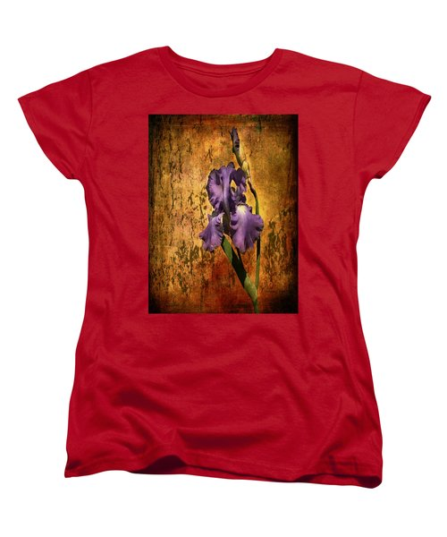 Purple Iris At Sunset Women's T-Shirt (Standard Cut)