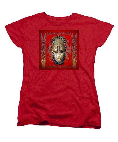 Queen Mother Idia  Women's T-Shirt (Standard Cut) by Serge Averbukh
