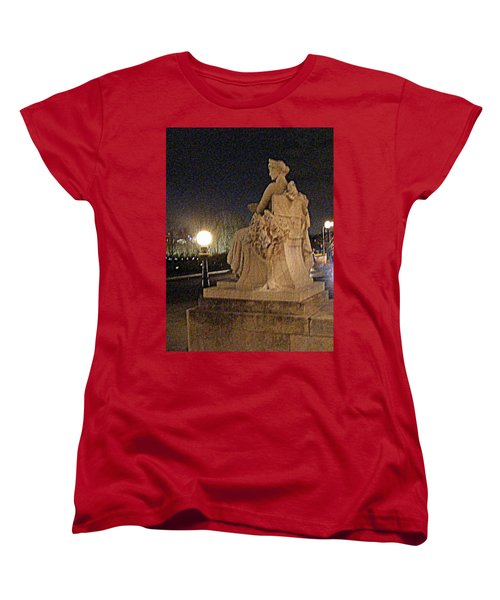 Queen Of Art Hill Women's T-Shirt (Standard Cut) by Nancy Kane Chapman