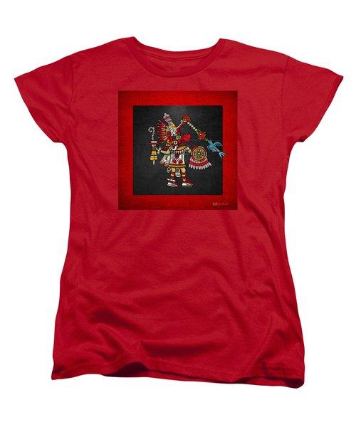 Quetzalcoatl - Codex Magliabechiano Women's T-Shirt (Standard Cut) by Serge Averbukh
