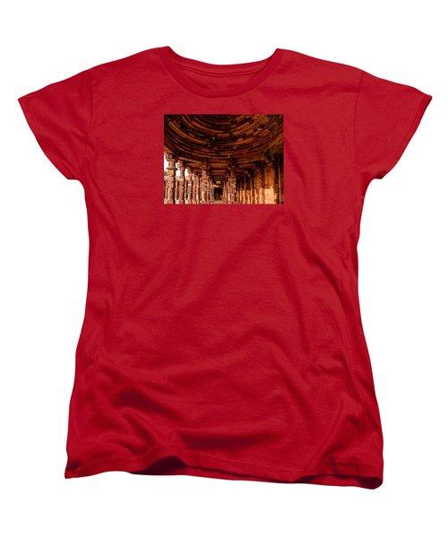 Qutub Minar Women's T-Shirt (Standard Cut) by M G Whittingham