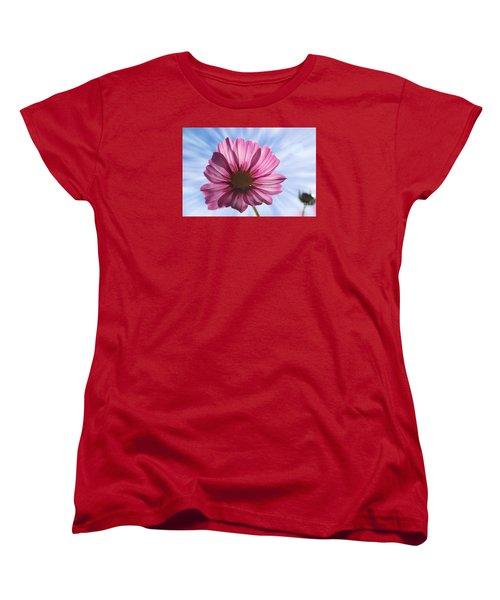 Radiant Cosmos Women's T-Shirt (Standard Cut) by Yumi Johnson