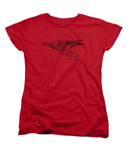Radiator Cap Patent 1926 Women's T-Shirt (Standard Cut) by Mark Rogan