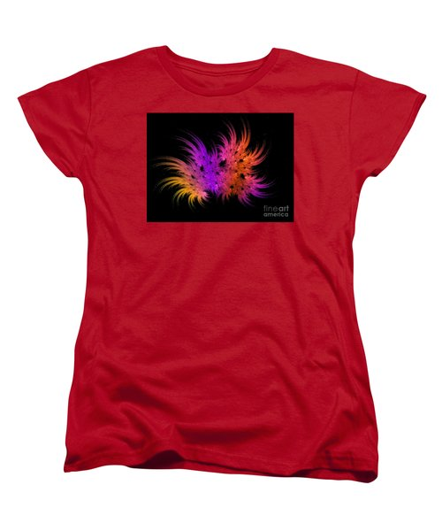 Rainbow Bouquet Women's T-Shirt (Standard Cut) by Geraldine DeBoer