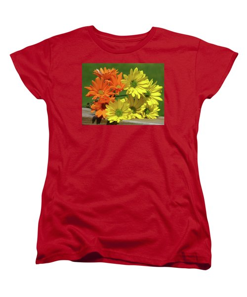 Rainbow Mums 4 Of 5 Women's T-Shirt (Standard Cut) by Tina M Wenger