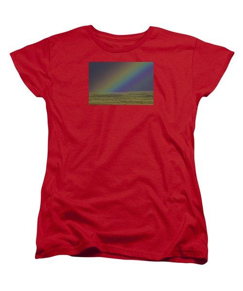 Rainbows End Women's T-Shirt (Standard Cut) by Elizabeth Eldridge