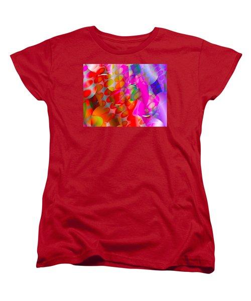 Women's T-Shirt (Standard Cut) featuring the digital art Rainy Day Girl by Robert Orinski