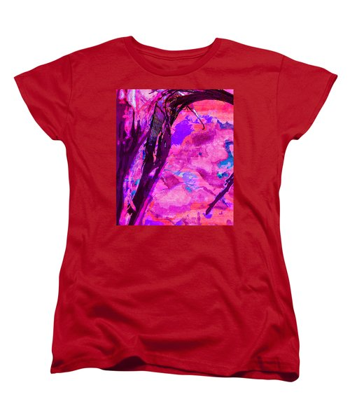 Reaching Beyond The Blue Women's T-Shirt (Standard Cut) by Samantha Thome
