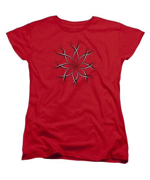 Reaching Women's T-Shirt (Standard Cut) by Dee Cresswell