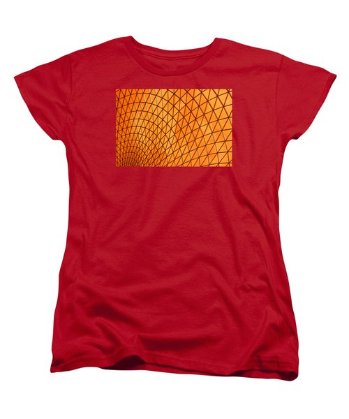 Orange Glow Women's T-Shirt (Standard Cut) by Elvira Butler