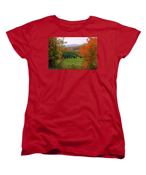 Ready For Christmas Women's T-Shirt (Standard Cut) by Dale R Carlson