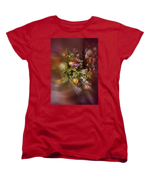 Floral Arrangement No. 1 Women's T-Shirt (Standard Cut) by Richard Cummings