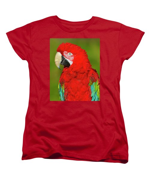 Women's T-Shirt (Standard Cut) featuring the photograph Red And Green by Tony Beck