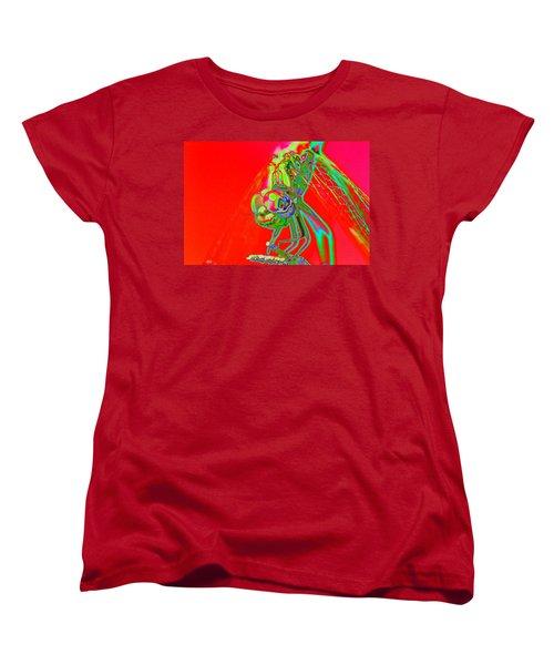 Red Dragon Women's T-Shirt (Standard Cut) by Richard Patmore