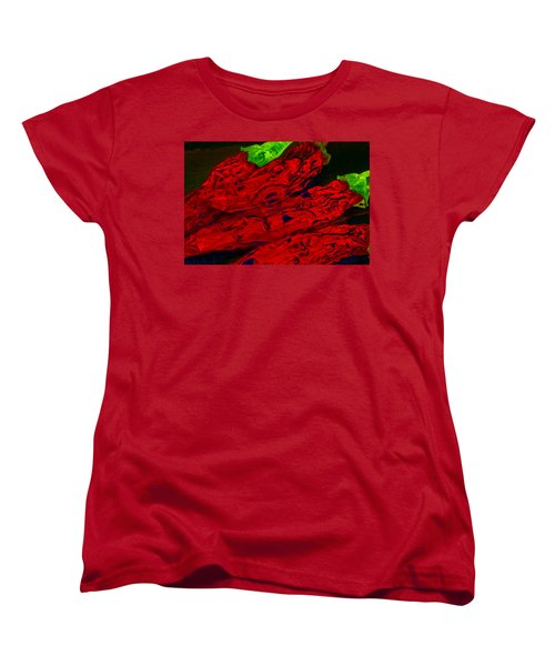 Red Hot Chili 2 Women's T-Shirt (Standard Cut) by Stephen Anderson