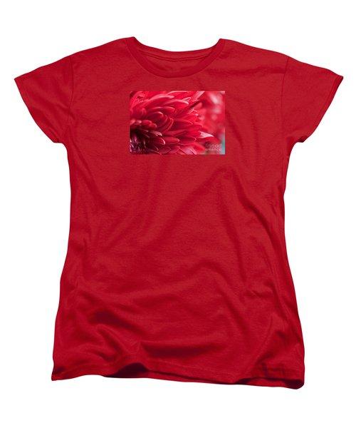 Red Mum Women's T-Shirt (Standard Cut) by Jim Gillen