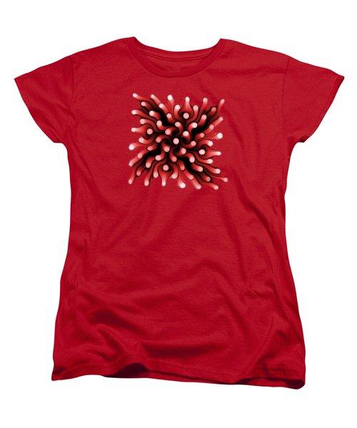 Red Sea Anemone Women's T-Shirt (Standard Cut)