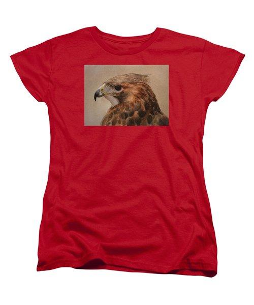 Red-shouldered Hawk Women's T-Shirt (Standard Cut)
