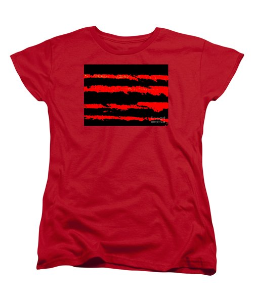 Red Tide Women's T-Shirt (Standard Cut) by Tim Townsend