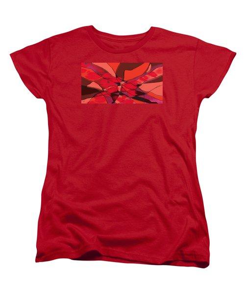 Red Women's T-Shirt (Standard Cut)