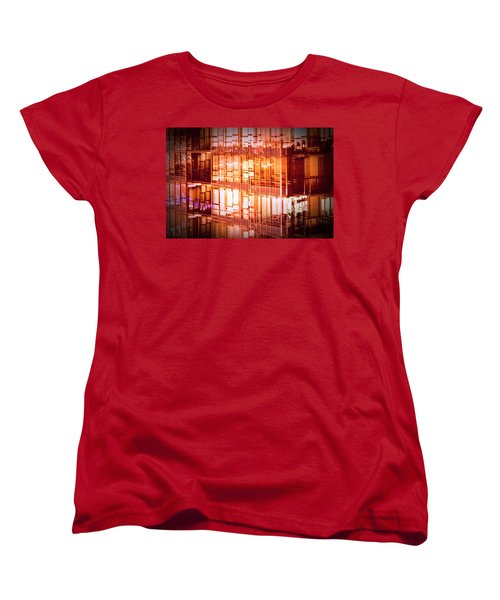 Reflectionary Phase Women's T-Shirt (Standard Cut) by Amyn Nasser