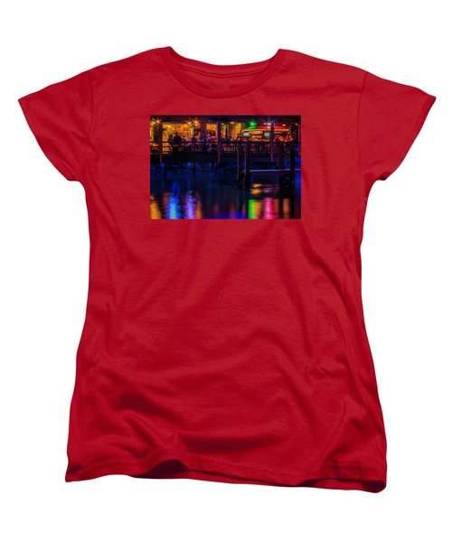 Reflections From Riverview Grill Women's T-Shirt (Standard Cut) by Dorothy Cunningham