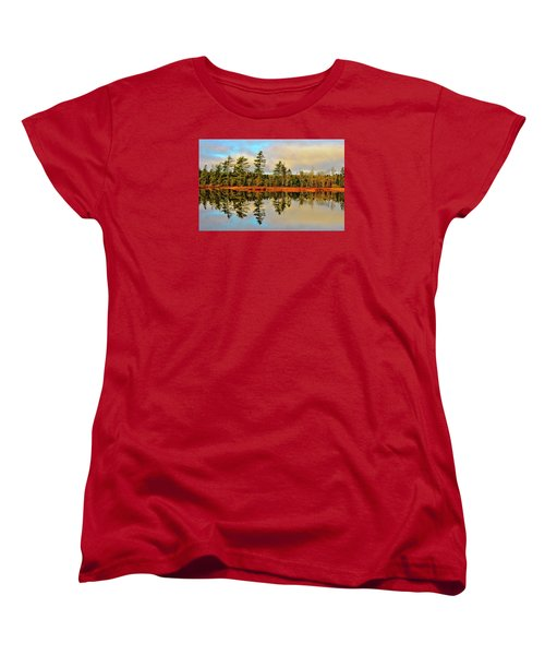 Women's T-Shirt (Standard Cut) featuring the photograph Reflections by Kathleen Sartoris