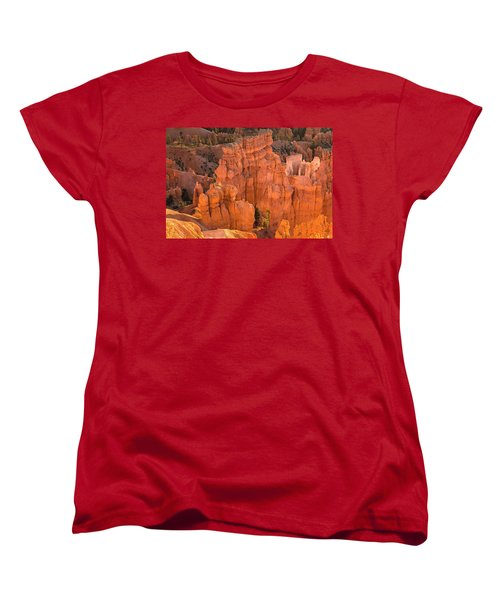 Reflections Of Morning Light Women's T-Shirt (Standard Cut) by Angelo Marcialis