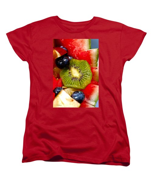 Refreshing Women's T-Shirt (Standard Cut) by Christopher Holmes