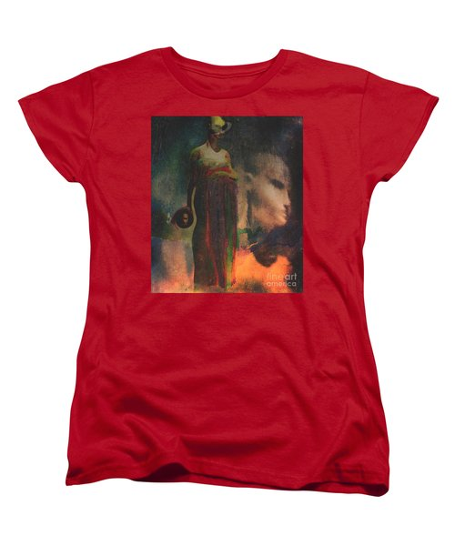 Reincarnation Women's T-Shirt (Standard Cut) by Alexis Rotella