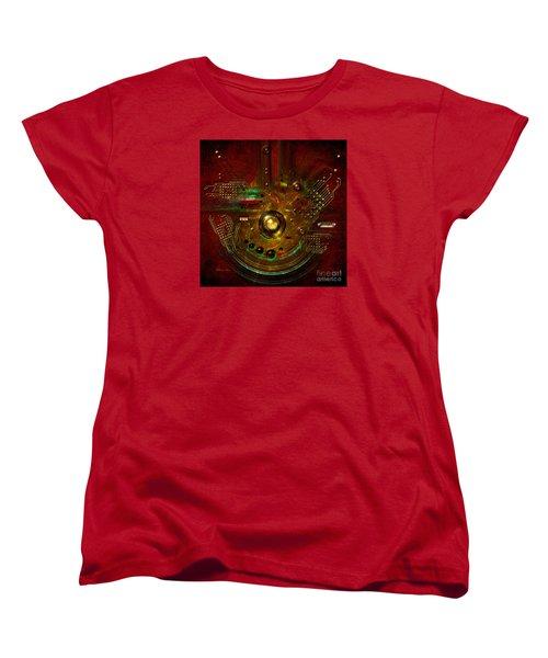 Women's T-Shirt (Standard Cut) featuring the painting Relay by Alexa Szlavics