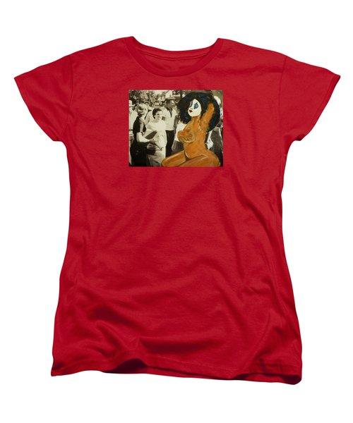 Renee Segregationist Women's T-Shirt (Standard Cut) by Deedee Williams