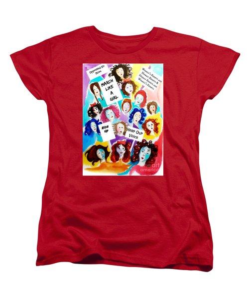 Resistance  Women's T-Shirt (Standard Cut)