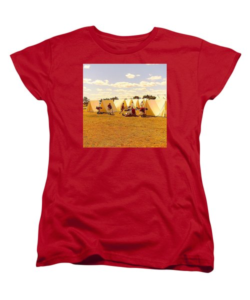 A Revolutionary Day  Women's T-Shirt (Standard Cut) by Kate Arsenault