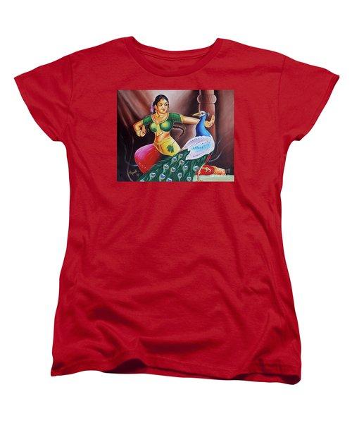 Rhythms Of Tradition Women's T-Shirt (Standard Cut) by Ragunath Venkatraman