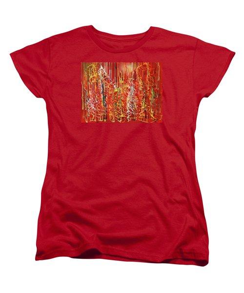 Rib Cage Women's T-Shirt (Standard Cut) by Ralph White
