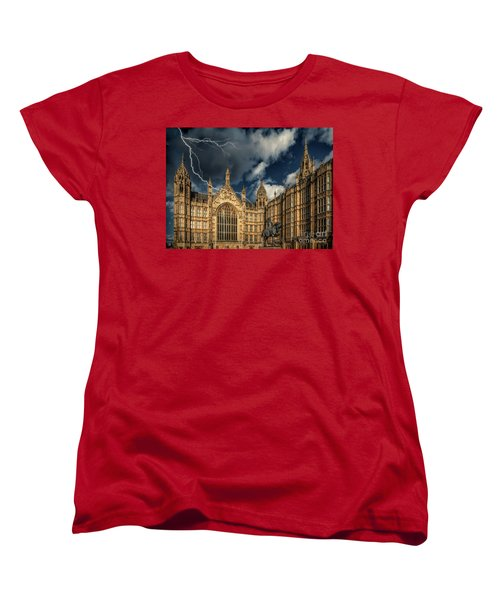 Women's T-Shirt (Standard Cut) featuring the photograph Richard The Lionheart by Adrian Evans