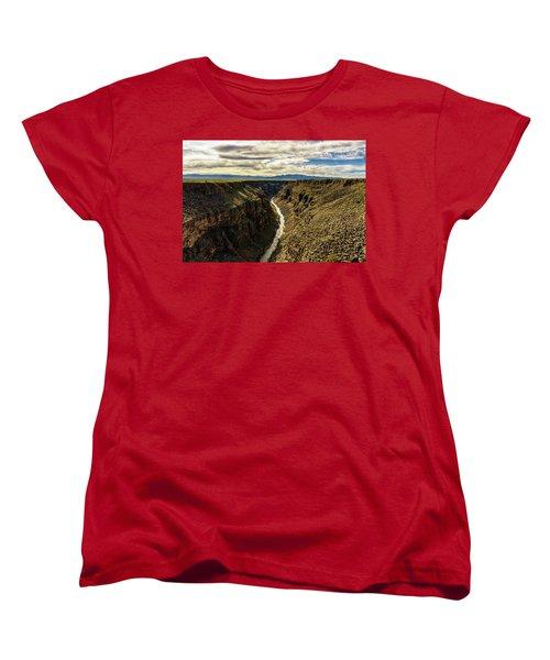 Rio Grande Gorge  Women's T-Shirt (Standard Cut) by Robert FERD Frank