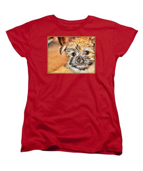 Women's T-Shirt (Standard Cut) featuring the photograph Robin by Mindy Newman