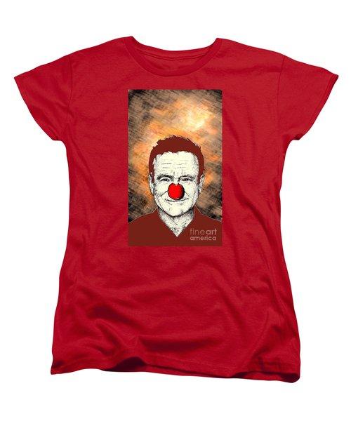 Robin Williams 2 Women's T-Shirt (Standard Cut) by Jason Tricktop Matthews