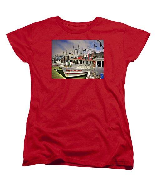Women's T-Shirt (Standard Cut) featuring the photograph Rock Bottom by Savannah Gibbs