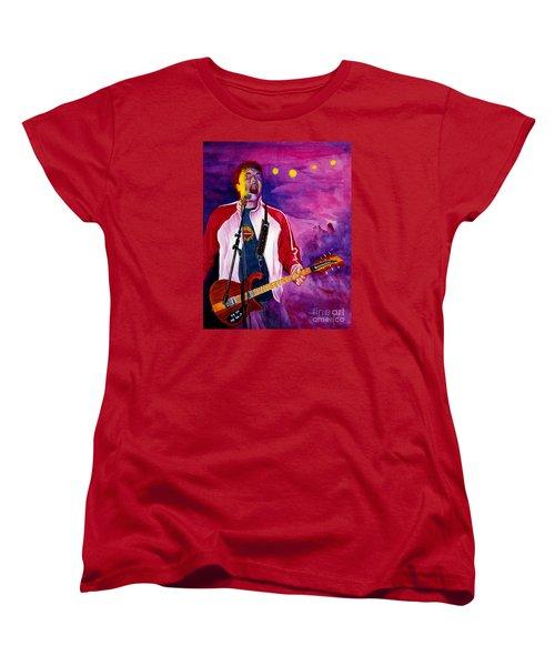 Rock On Tom Women's T-Shirt (Standard Cut) by Nancy Cupp
