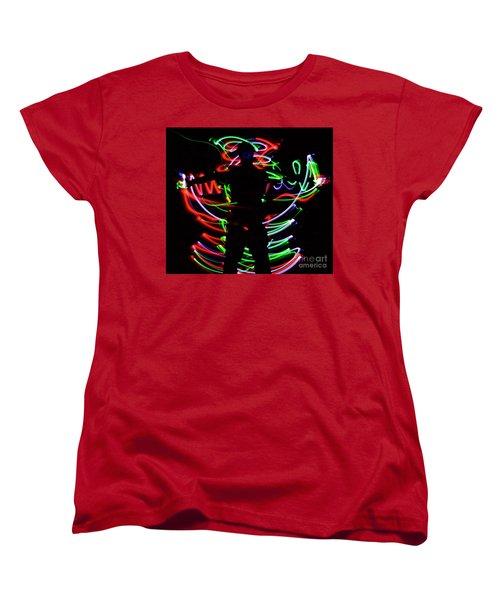 Rockin' In The Dead Of Night Women's T-Shirt (Standard Cut) by Xn Tyler