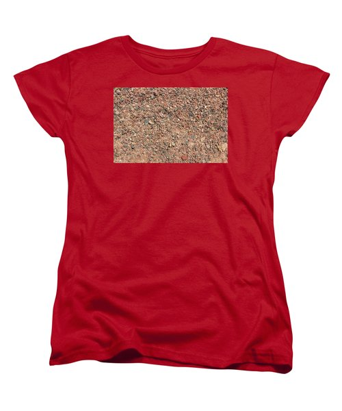 Women's T-Shirt (Standard Cut) featuring the photograph Rocky Beach 3 by Nicola Nobile