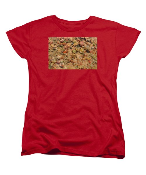 Women's T-Shirt (Standard Cut) featuring the photograph Rocky Beach 5 by Nicola Nobile