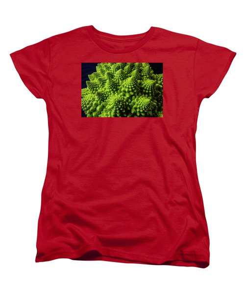 Romanesco Broccoli Women's T-Shirt (Standard Cut) by Garry Gay
